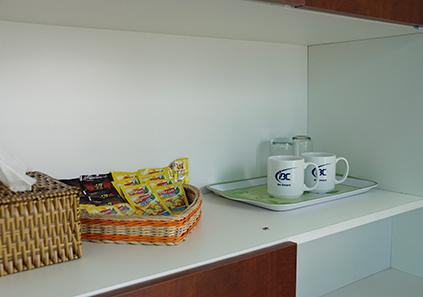 Cà phê, trà, nước miễn phí