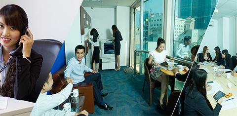 Hình ảnh văn phòng cho thuê tại IBC Office